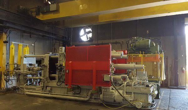 IDRA 770 ton cold chamber die casting machine, Northwest Die Casting